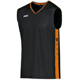jako 4101 08 Trikot Center schwarz/neon orange