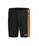 jako 4401 08 Short Center schwarz/neonorange