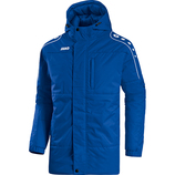 jako 7197 04 Coachjacke Active royal/weiß