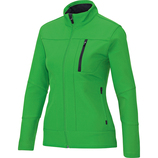 jako 7611 22 Softshelljacke Team soft green/schwarz