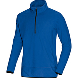jako 7711 07 Fleece Ziptop Team royal/schwarz