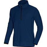 jako 7711 09 Fleece Ziptop Team marine/schwarz