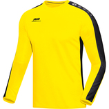 jako 8816 03 Sweat Striker citro/schwarz