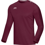 jako 8816 14 Sweat Striker maroon