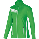 jako 9825 22 Jacke Athletico soft green/weiß