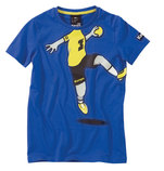 KEMPA CARTOON PLAYER T-Shirt blau (#2002180-02)